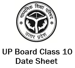 up board class 10 date sheet